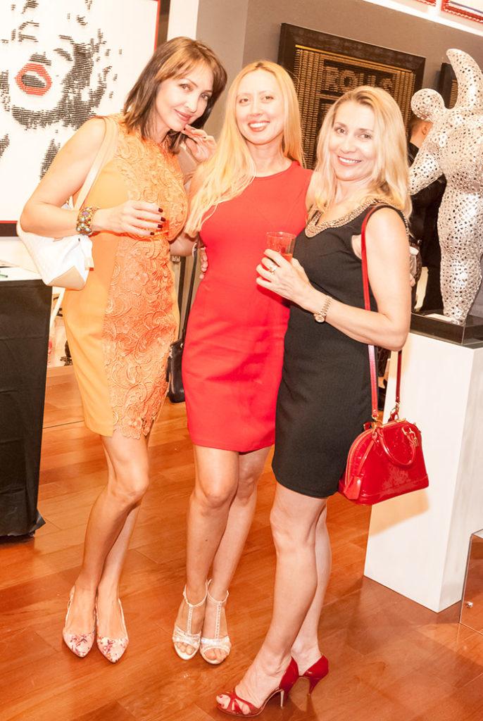Olena Grener, Tatiana Moody & Hera Stark high rise life magazine