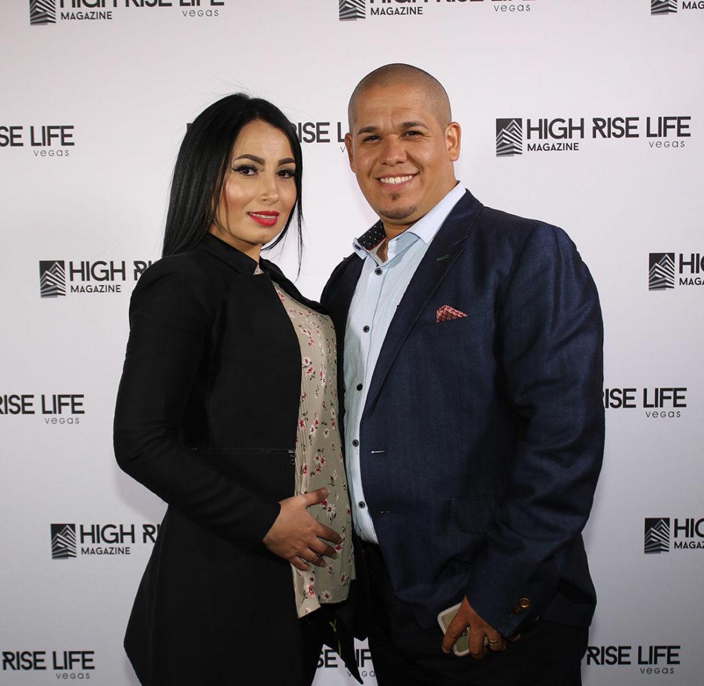 Gus & Ximena Vega high rise life magazine