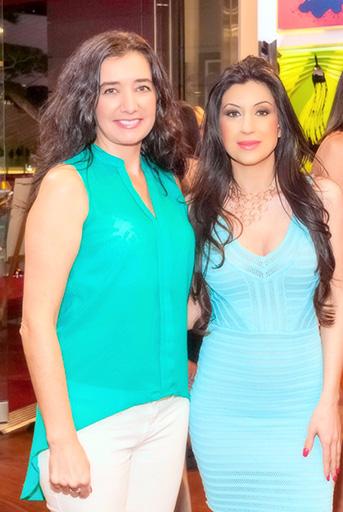 Suzan Kustra & Selcen Kavruklar high rise life magazine