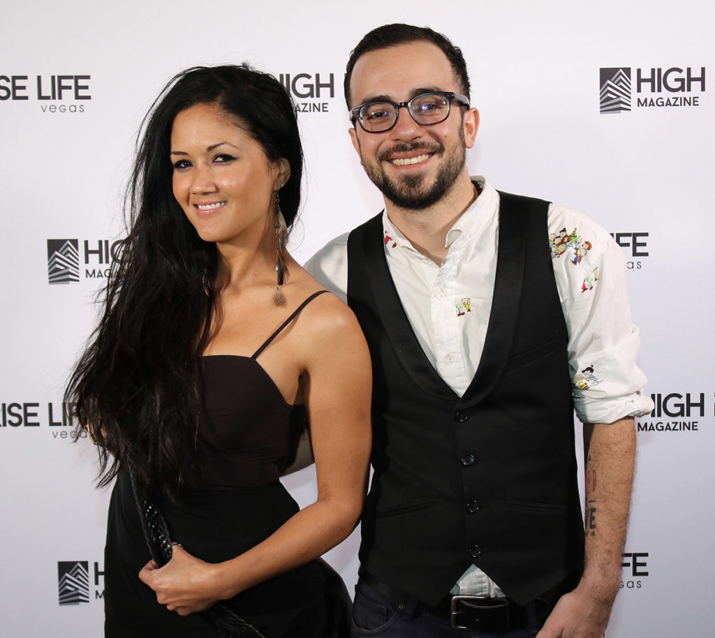 Isidra Suga & Rob Seeades high rise life magazine