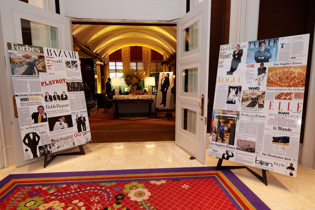 House Of Bijan Celebrates Las Vegas Boutique Opening At